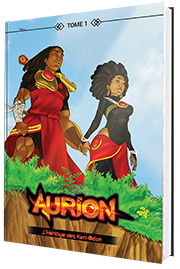 Tome 1 Aurion Noir et blanc